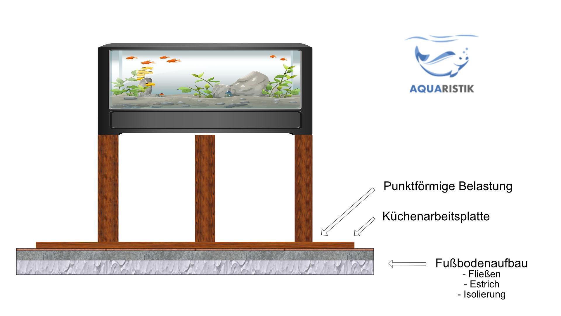 Belastbarkeit Des Fußbodens Tragfährigkeit Für Ein Aquarium