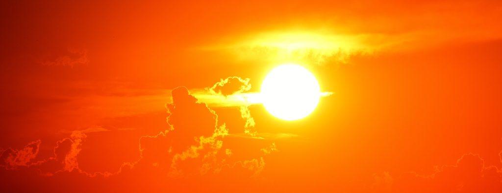 Sonneneinstrahlung Aquarium
