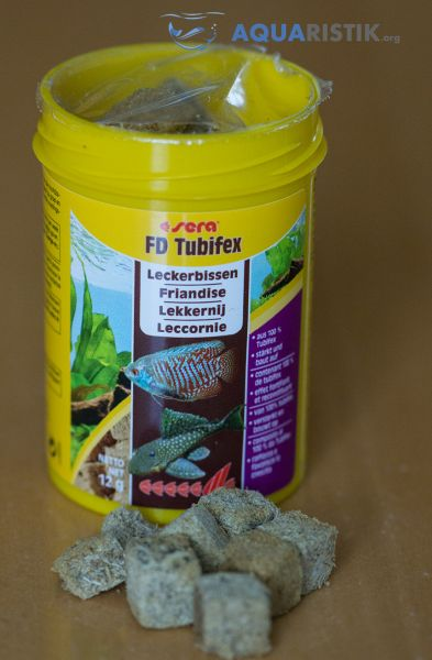 Tubifex Futter